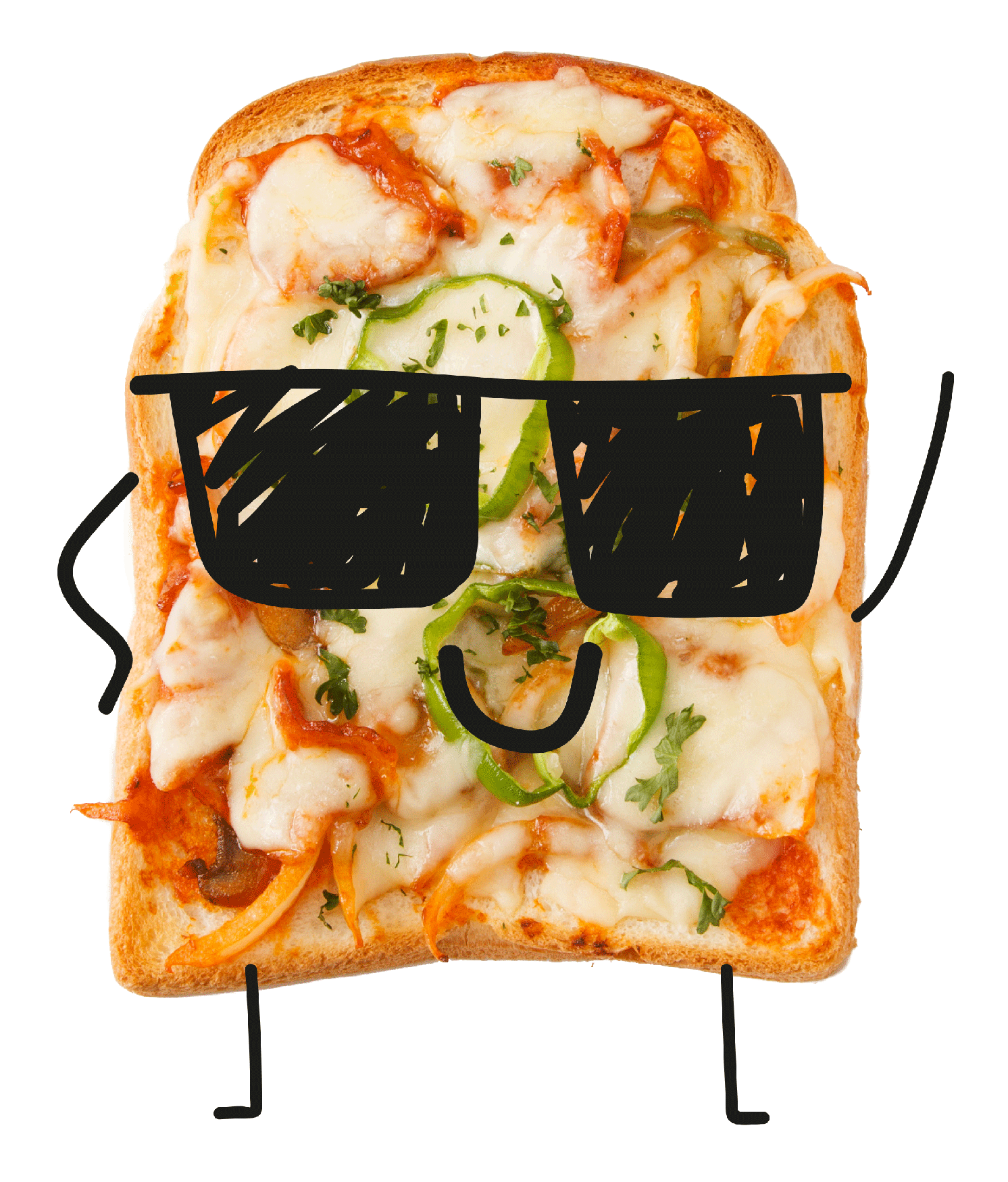 Bin toast apple carrot potato pizza